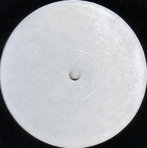 Label of test pressing