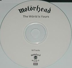 The World Is Yours, white disc, promo
